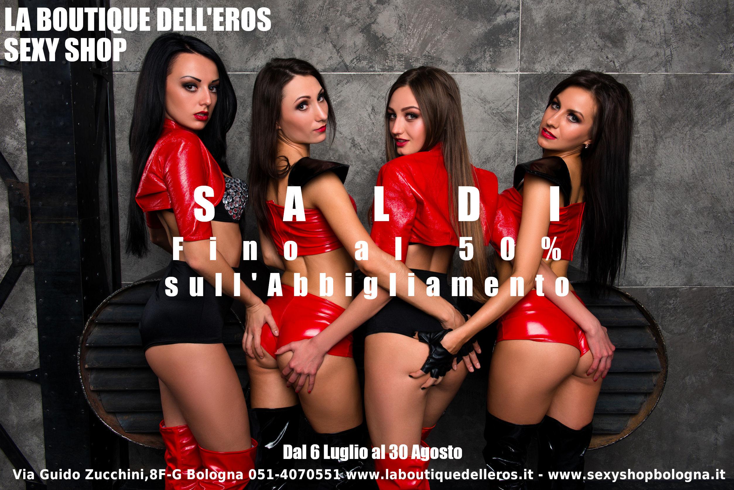 Saldi Estivi 2019 alla Boutique dell'Eros Sexy Shop Bologna