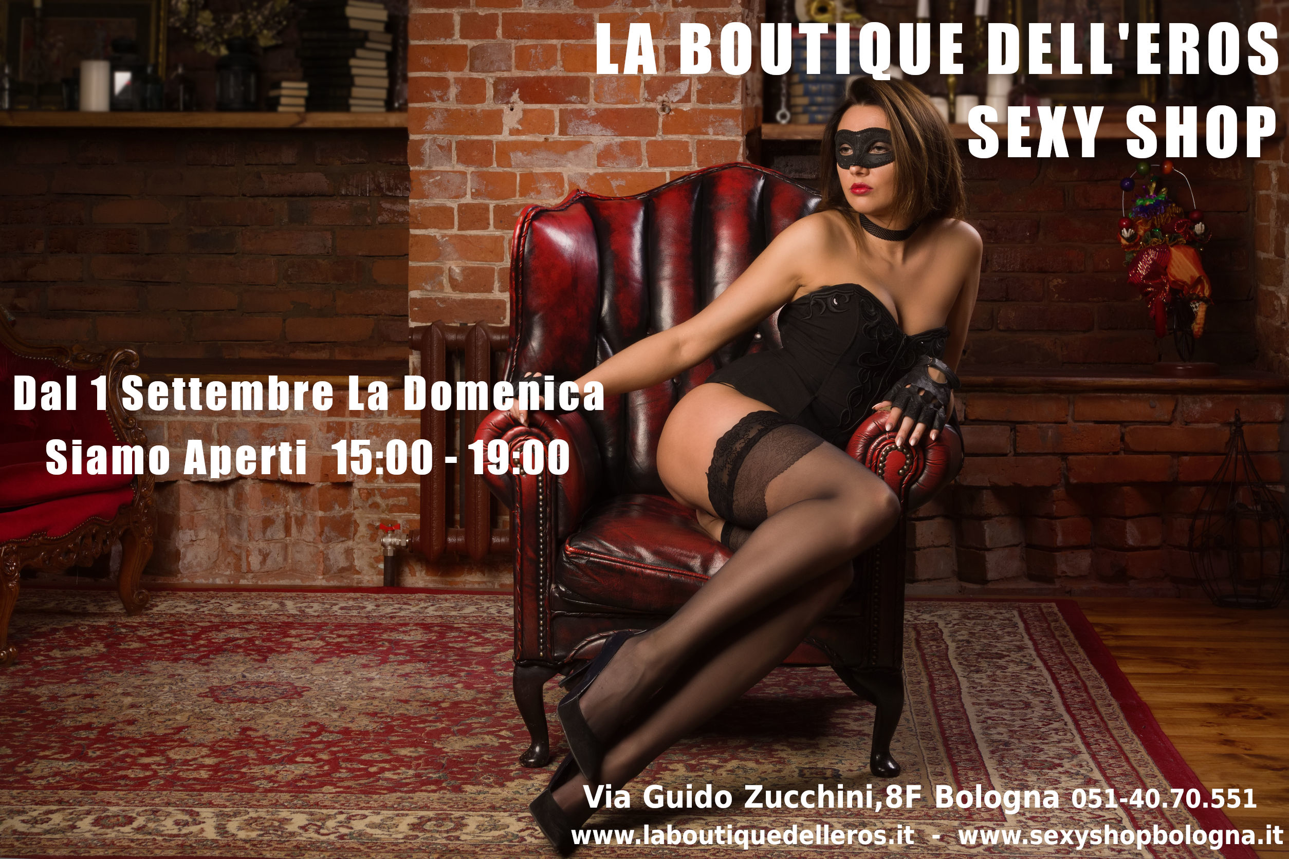 Apertura Domenicale Sexy Shop Bologna