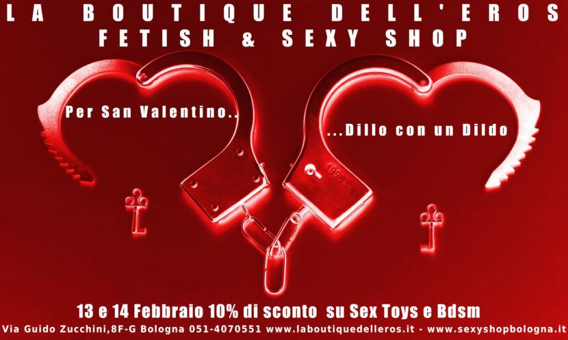San Valentino 2020 la Boutique dell'Eros Bologna