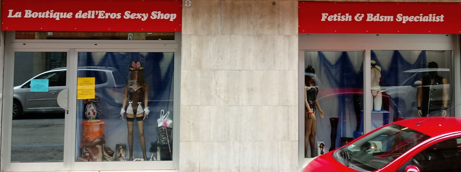 Shopping online o negozio Boutique dell'Eros Fetish & Sexy Shop