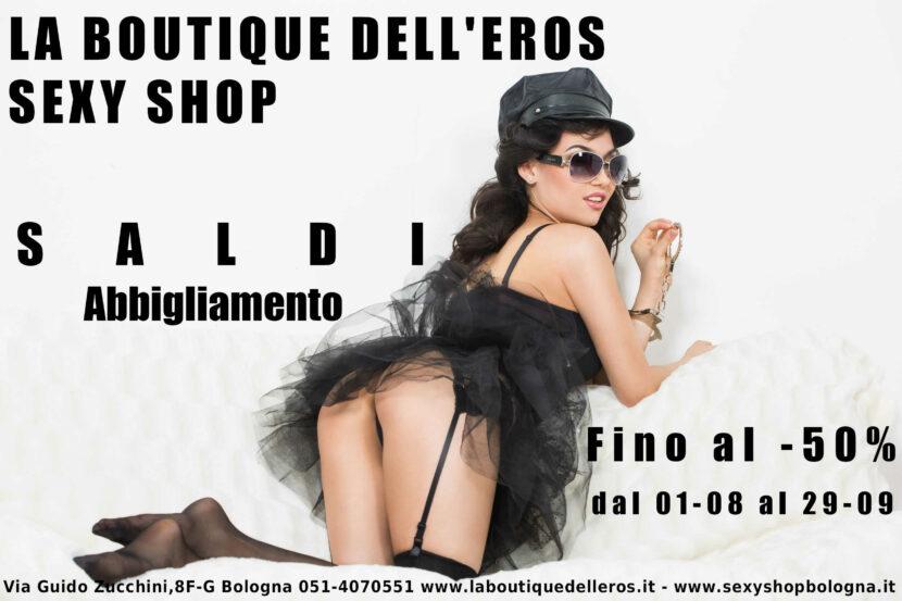 Saldi Estivi 2020 Boutique dell'Eros Sexy Shop Bologna