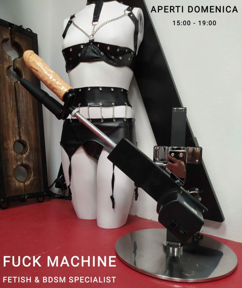 Fuck Machine La Boutique dell'eros Sexy Shop Bologna